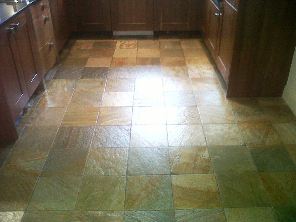 how to clean slate tiles after grouting