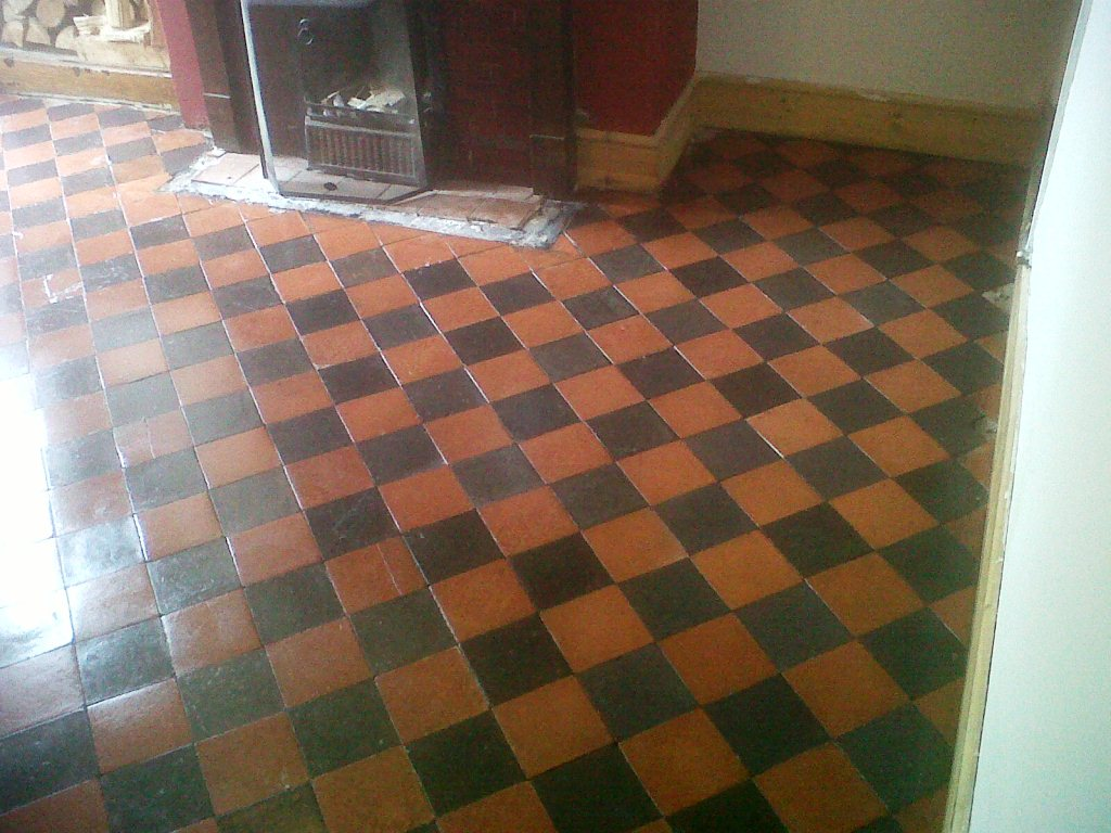 Quarry Tiles After Cleaning