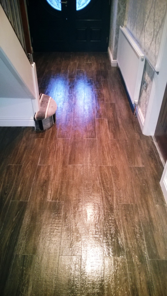 Wood Effect Porcelain Lichfield After Cleaning